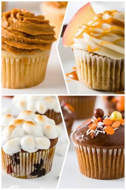 10 Best Fall Cupcakes