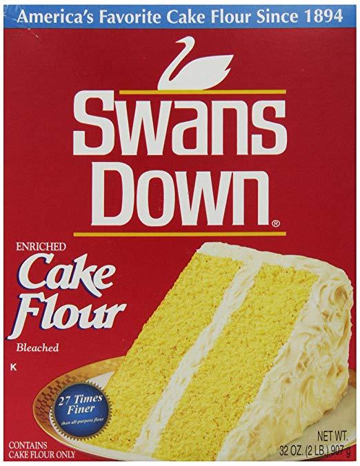 a box of swans down cake flour