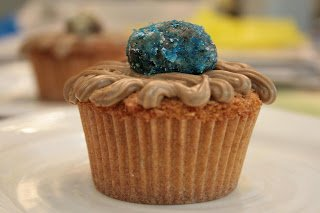 Rum and Coke Cupcakes Topped with Rum Balls: A Surprise Hit