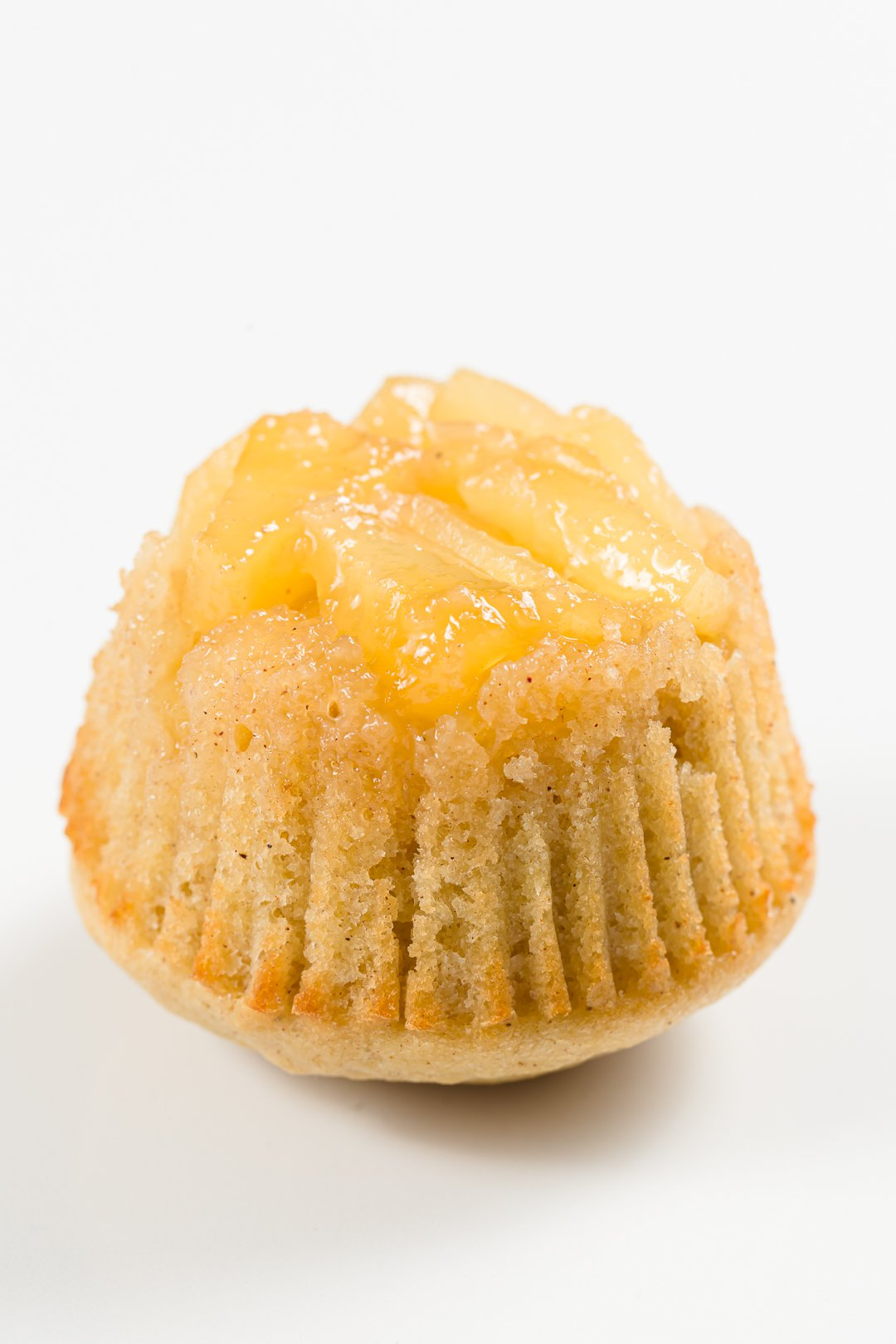 pineapple upside-down cupcake without whipped cream