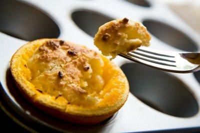 Orange Cupcakes: Cupcakes Grilled in an Orange