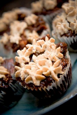 Bread Pudding Cupcakes With Lots of Chocolate