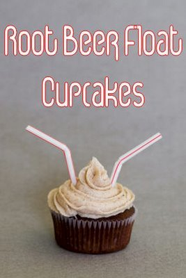 Valentine's Day Cupcakes – Root Beer Float Cupcakes