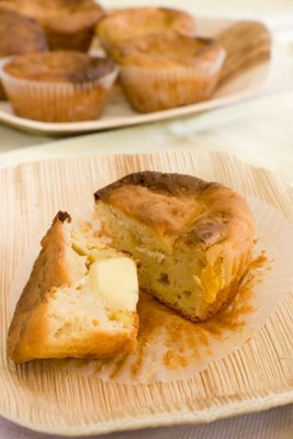 Polenta Cupcakes Morphed Into Corn Muffins – A Story with a Moral