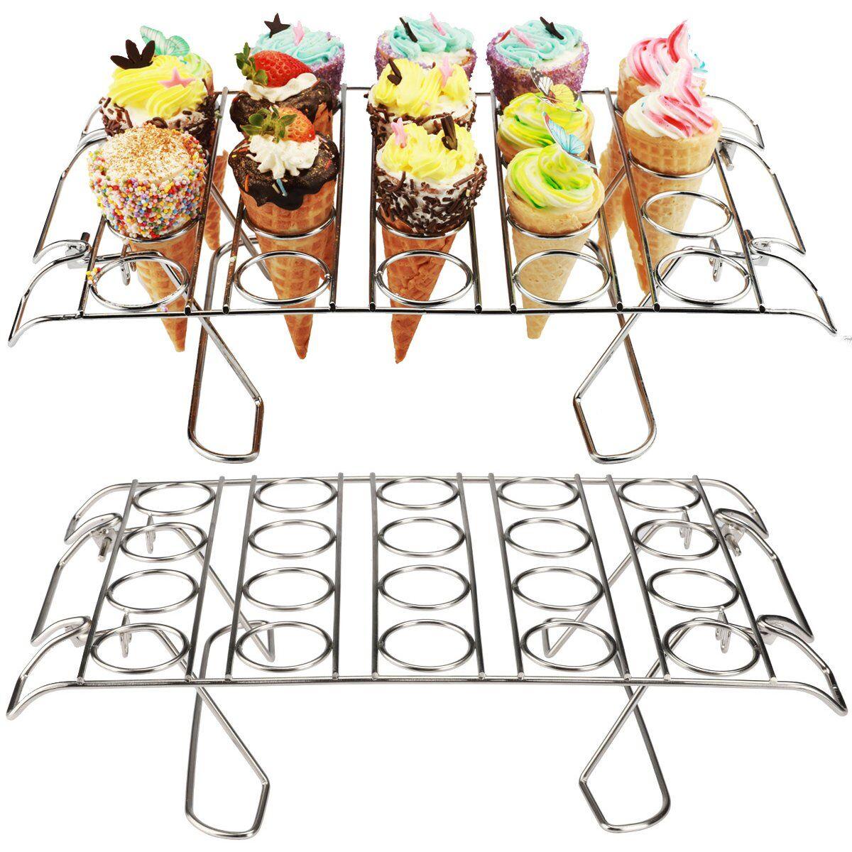 cupcake cone baking rack