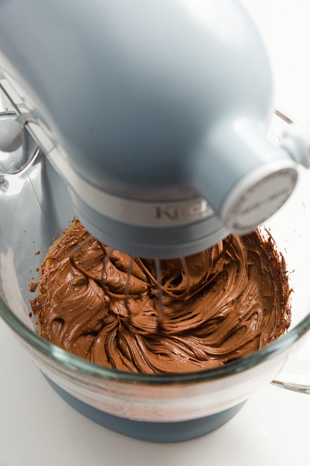 whipping chocolate ganache