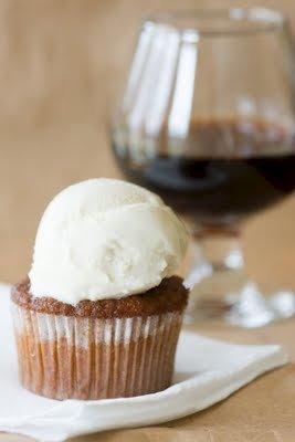 Malva Pudding Cupcakes