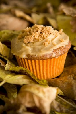 Sweet Potato Casserole Cupcakes