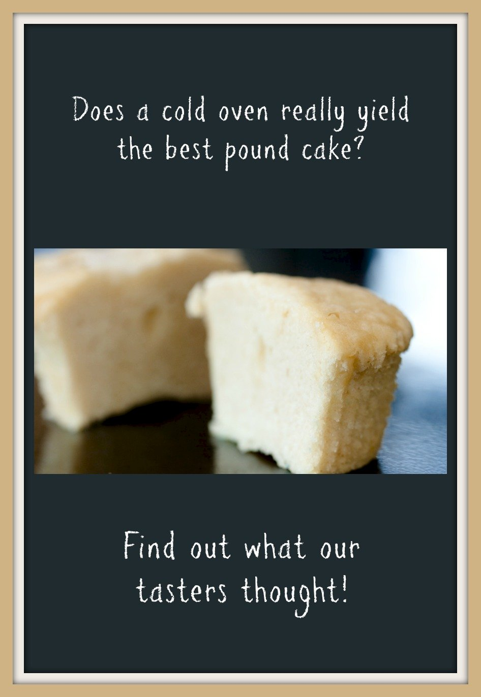 Cold Oven Pound Cake Cupcakes
