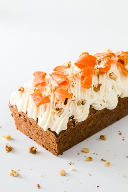 Carrot Walnut Loaf