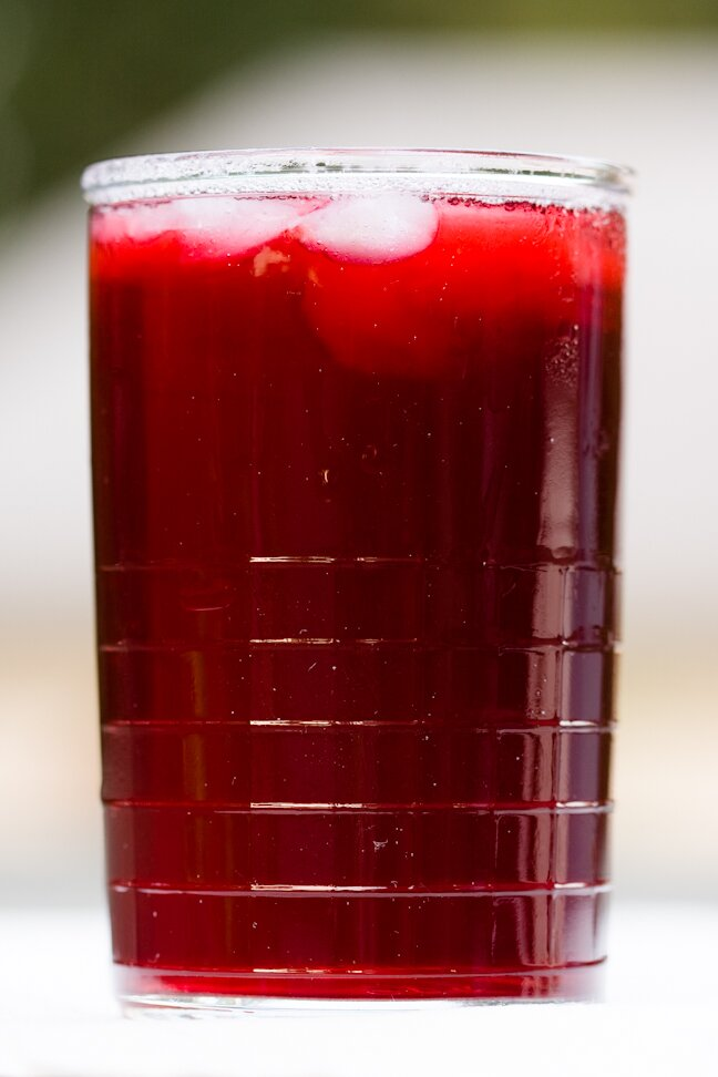Hibiscus Tea (Jamaica Drink)