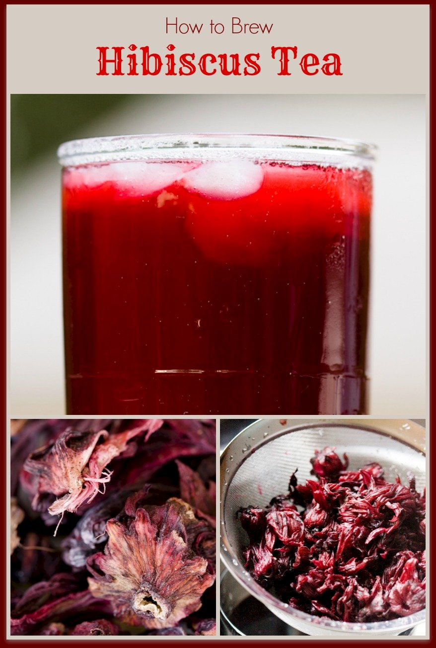 Hibiscus tea brewed at home from dried hibiscus flowers cupcake hibiscus tea has such a complex flavor that first time tasters will be surprised to discover that it is only dried hibiscus and sugar steeped in water izmirmasajfo