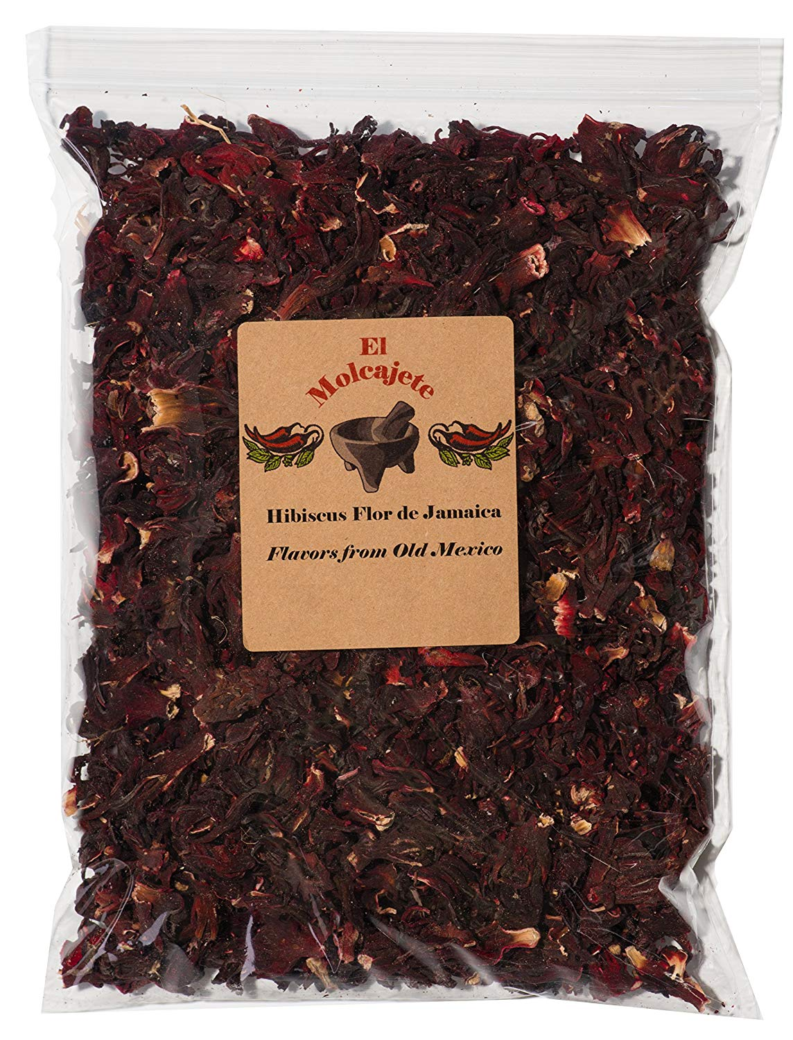package of hibiscus tea