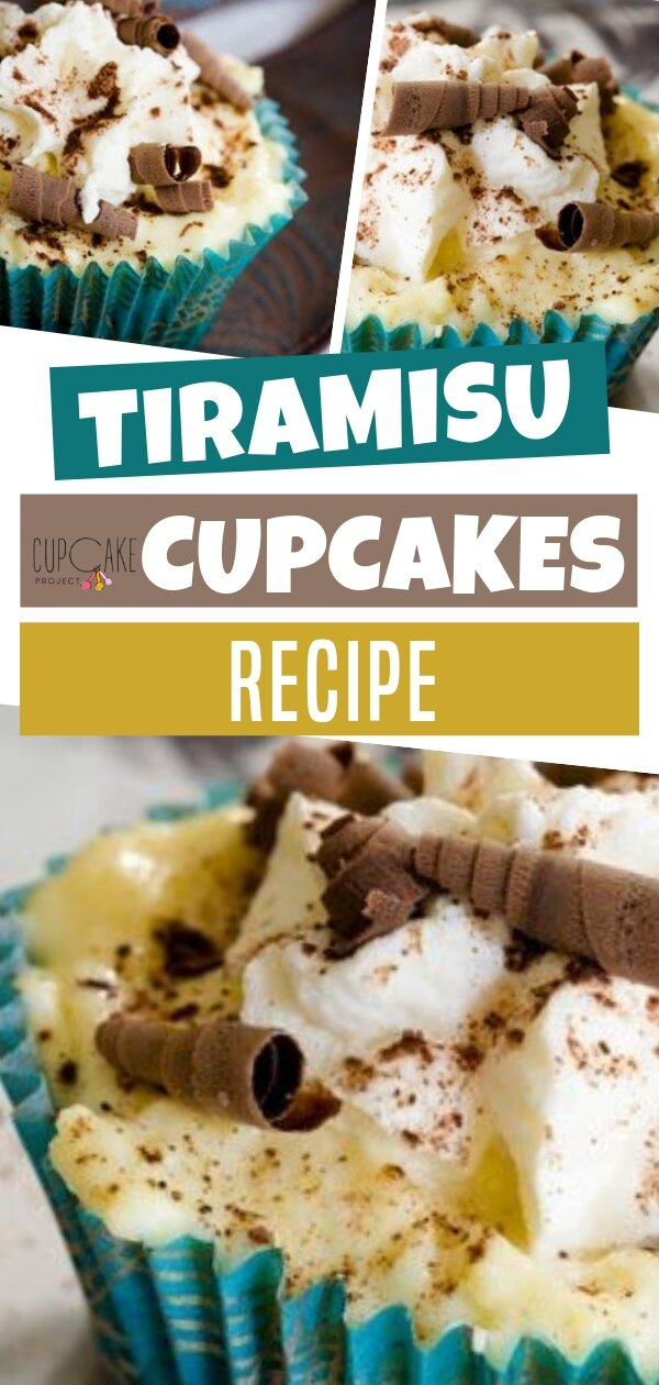 The best Tiramisu Cupcake is right in front of you! This is a perfect and refreshing way to beat the summer heat. Make your own now and enjoy this easy recipe. Save this pin for later!