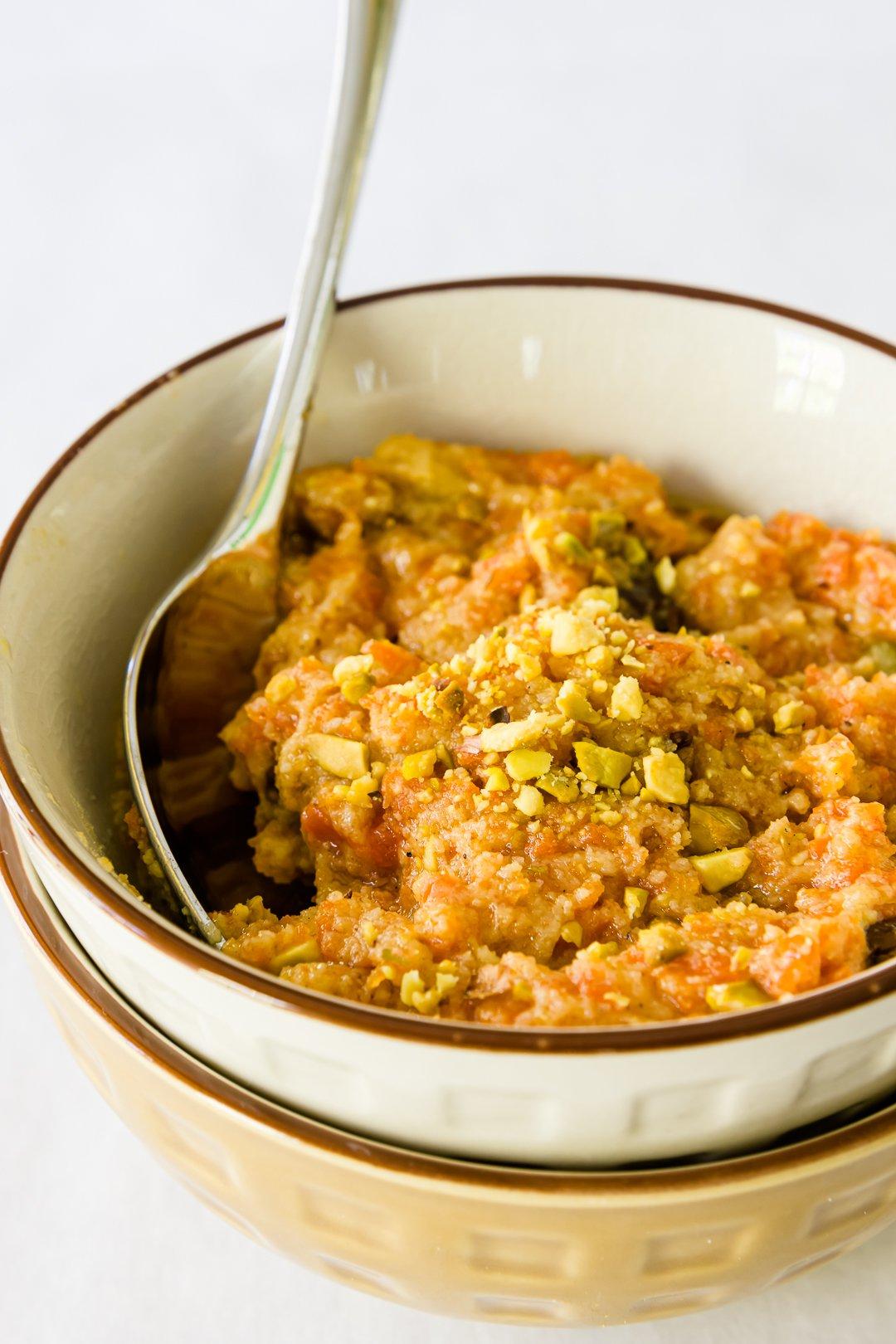 Carrot Halwa (Gajar ka Halwa)