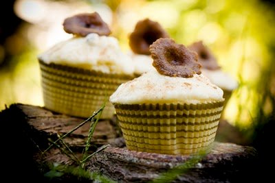 Mushroom Cupcakes – A Candy Cap Mushroom Dessert Recipe