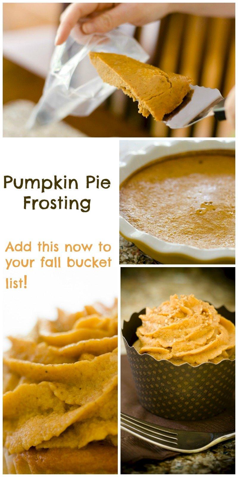 Pumkin Pie Frosting