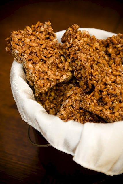 Honey Nutella Rice Krispie Treats