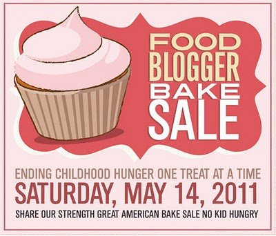 Call for Bakers, Donors, and Eaters – Share Our Strength Food Blogger Bake Sale on May 14
