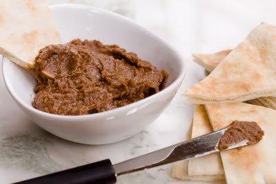 Homemade Chocolate Hummus