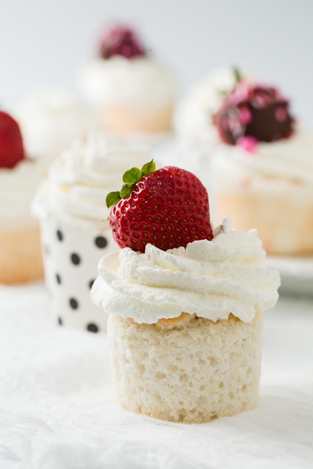 Heavenly Angel Food Cupcakes