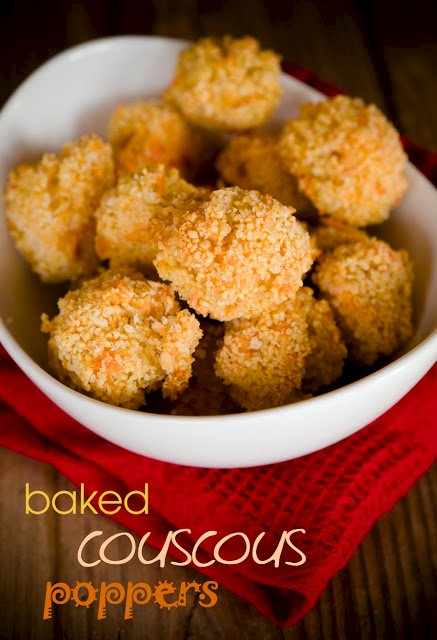Baked Couscous Poppers