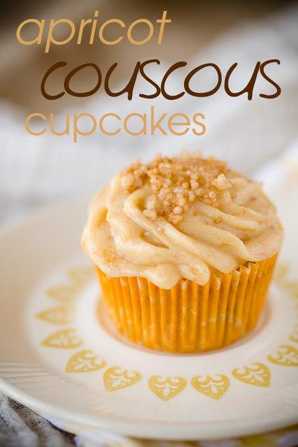 Apricot Couscous Cupcakes