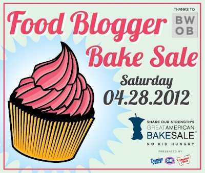 2012 Food Blogger Bake Sale for Share Our Strength – Call for Bakers, Volunteers, and Eaters