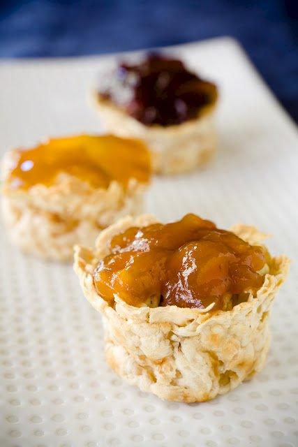 Matzoh Brei Cupcakes for Passover