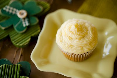 Savory Potato Rosemary Cupcakes with Irish Cheddar Frosting for St. Patrick's Day