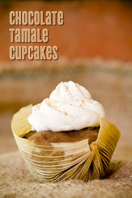 Chocolate Tamale Cupcakes for Cinco de Mayo