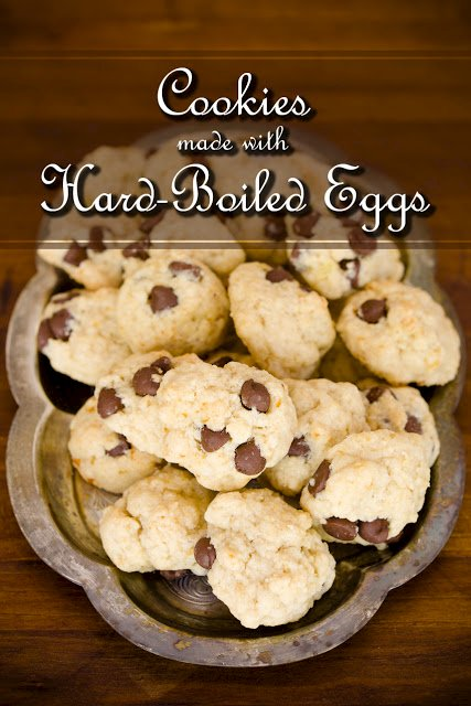 Cookies Made with Hard-Boiled Egg Whites – It Works and It's Fantastic!