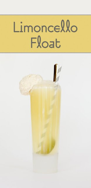 Limoncello Ice Cream Floats