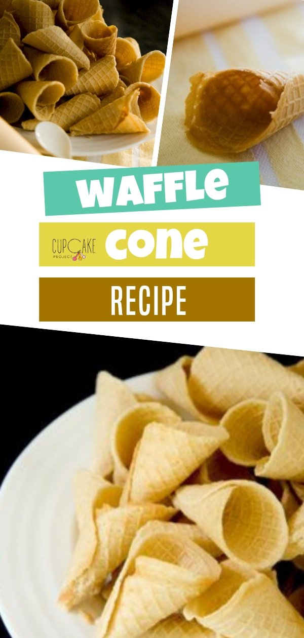 Follow this homemade recipe to know how to make fresh, crispy, sweet waffle cones. They are best for your ice creams and other desserts!