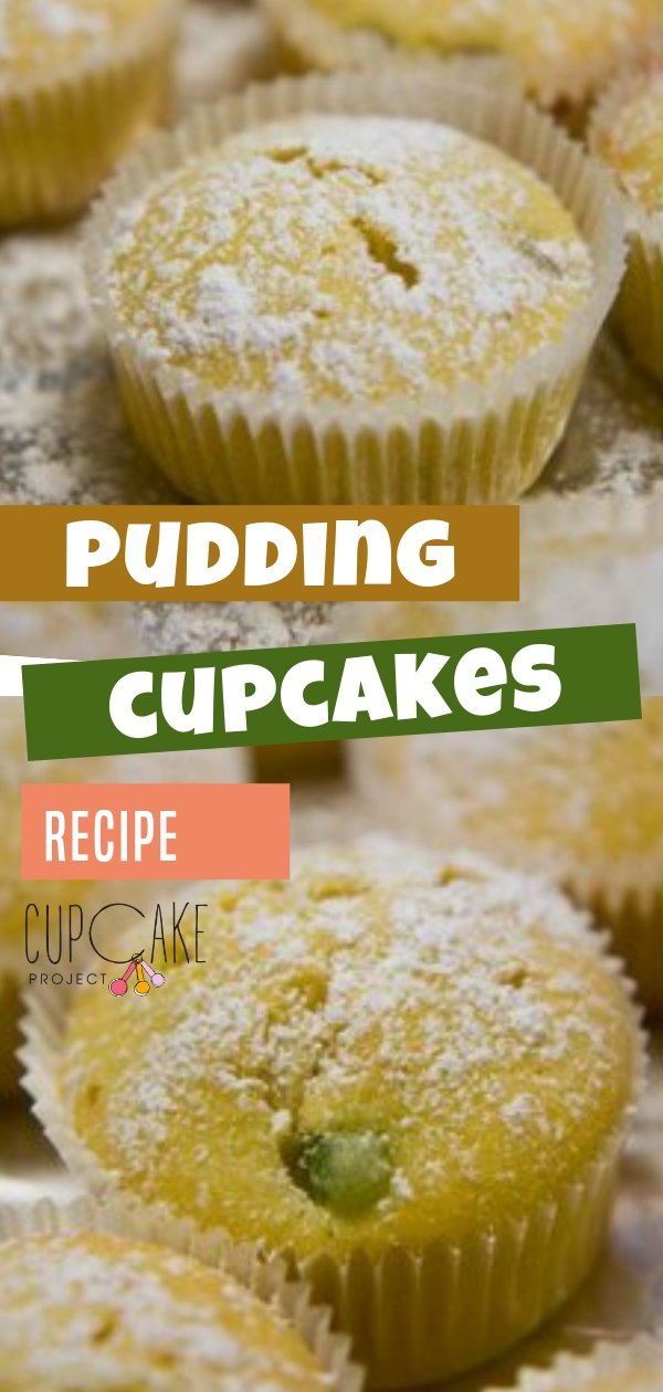 Pudding adds a nice flavor and moistness to any cupcake. You could make these Pudding Cupcakes using any flavor of pudding. This recipe uses tapioca pudding but you can try butterscotch and chocolate pudding!