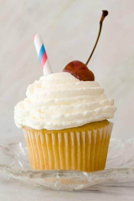 Vanilla Malt Cupcakes