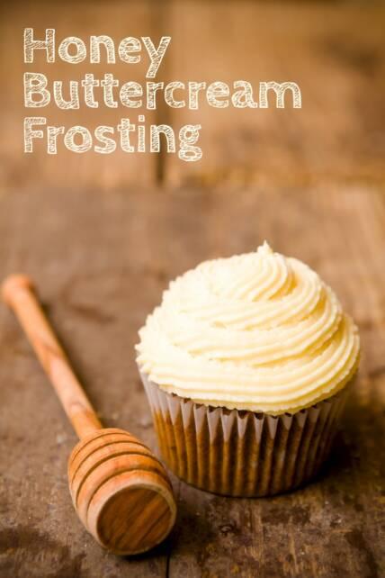 Honey Buttercream Frosting