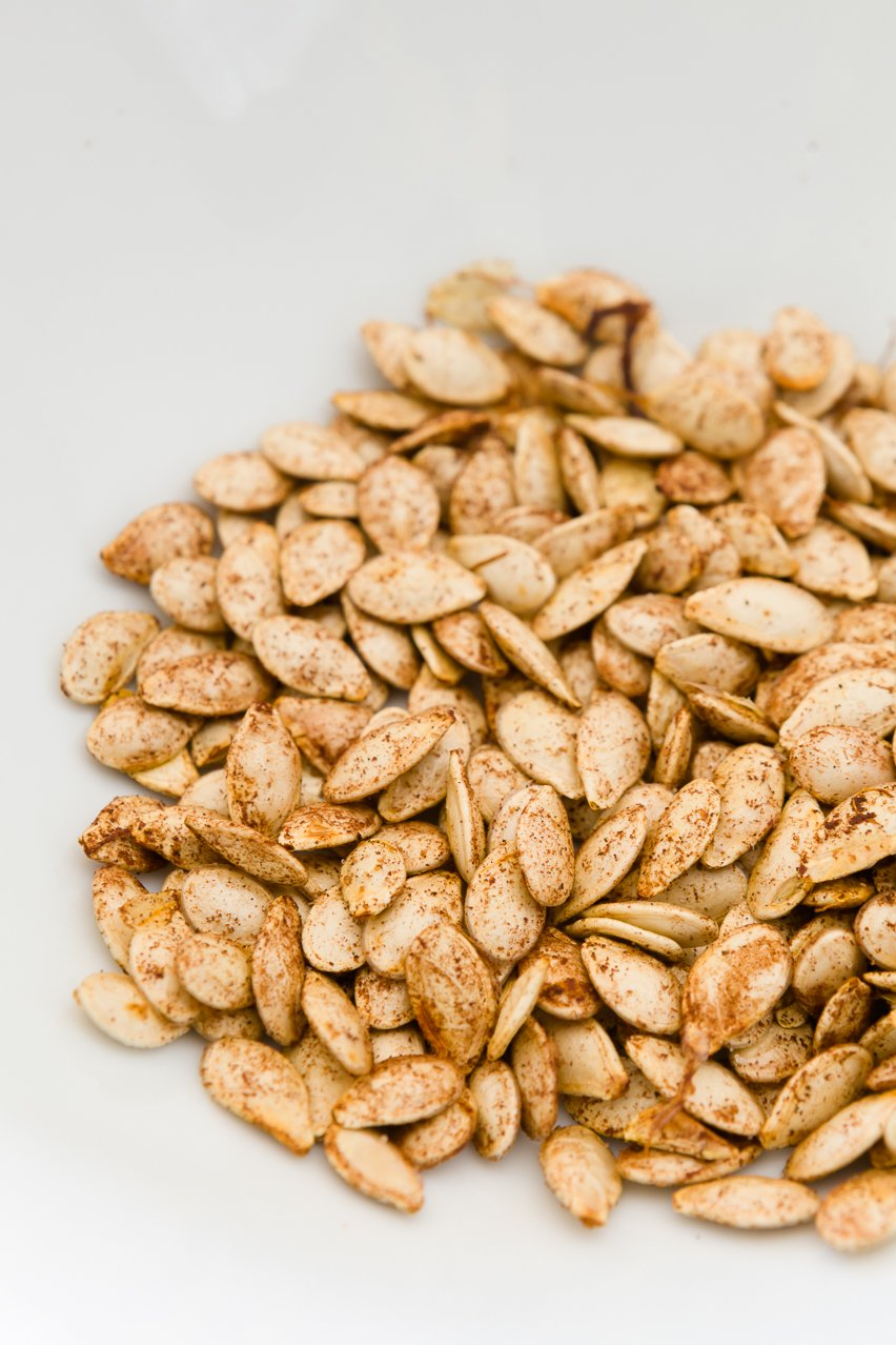 EASY Toasted Pumpkin Seeds