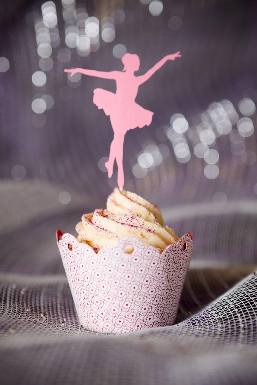 Magical Sugar Plum Fairy Cakes