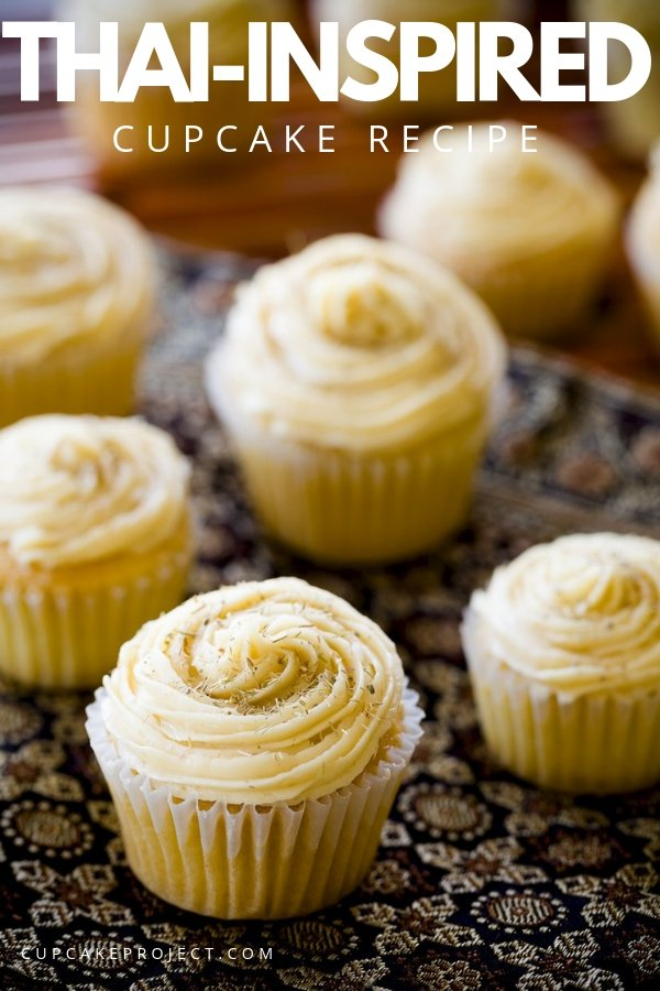 Bite into the featherweight Thai-inspired cupcake and you\'ll see that the smell translates flawlessly to taste.  Each bite is filled with a flavor intensity typically reserved only for hard candies.  Try making one now!