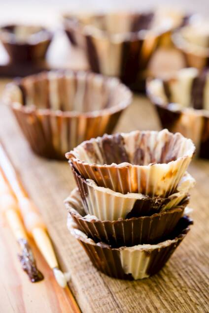 How to Make a Chocolate Cup – It's Shockingly Simple