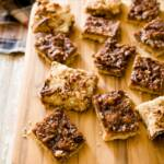 Barbecue Maple Syrup Pecan Bars