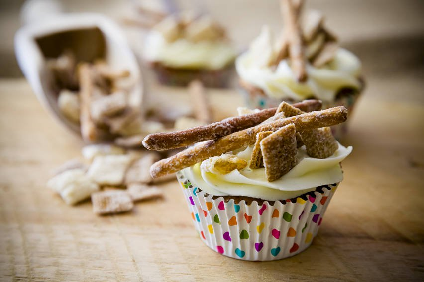 Chex Mix Cupcakes