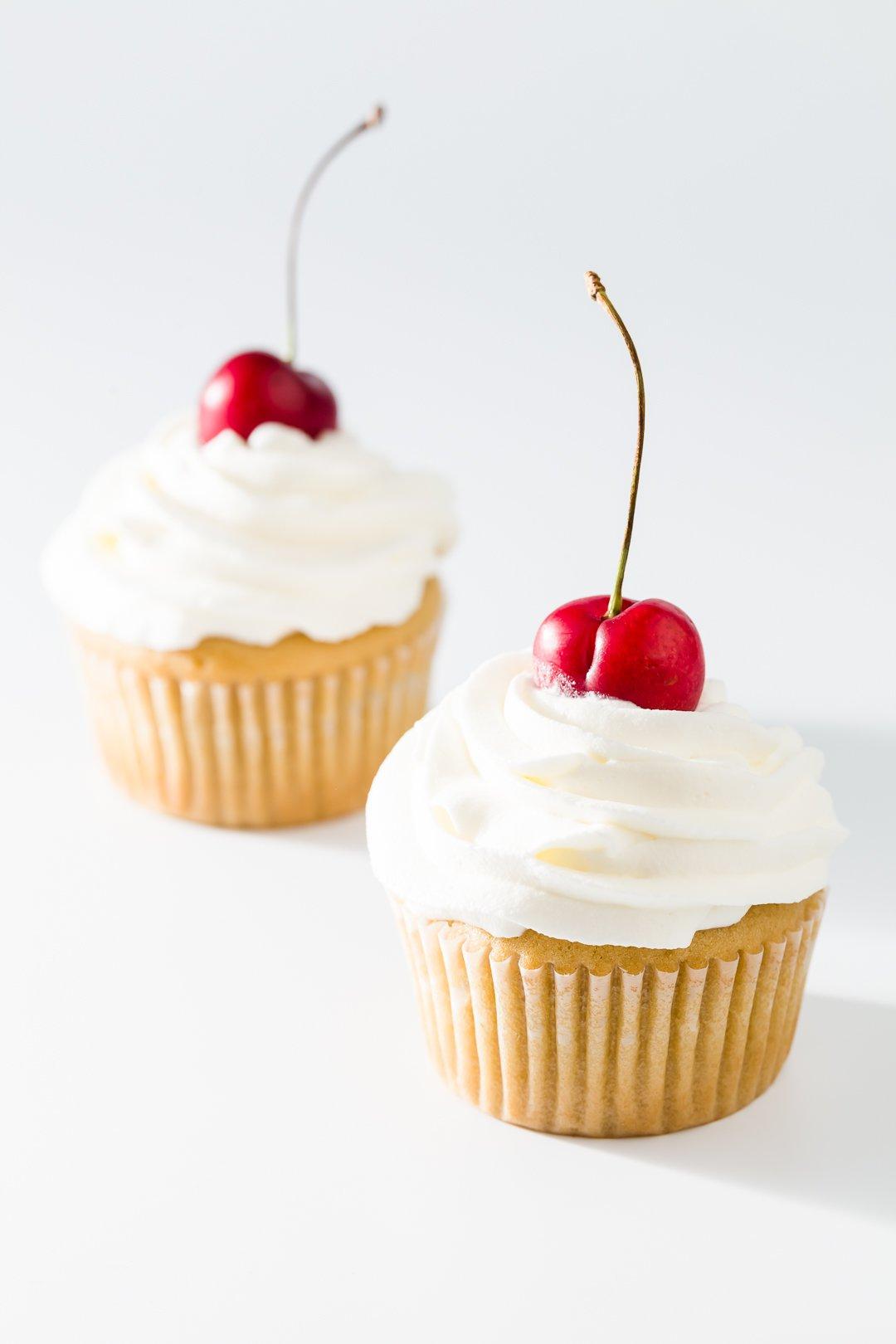 Cherry Cobbler Cupcakes Recipe