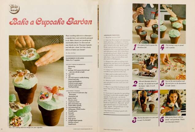 Vintage Betty Crocker Cupcakes