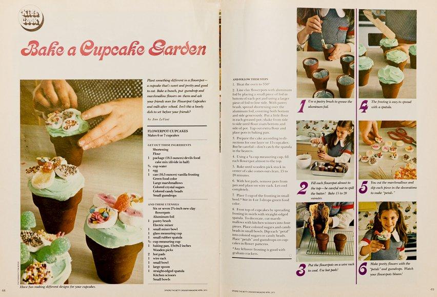 Vintage Betty Crocker Cupcakes