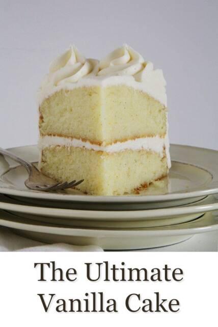 The Best Vanilla Cake Recipe