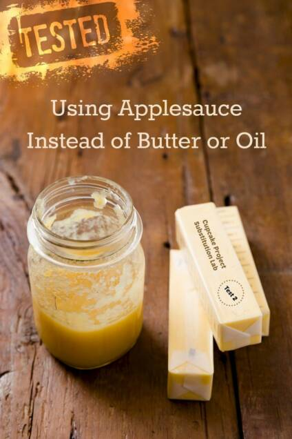 Using Applesauce as a Butter or Oil Substitute: Cupcake Project Substitution Lab Test 2