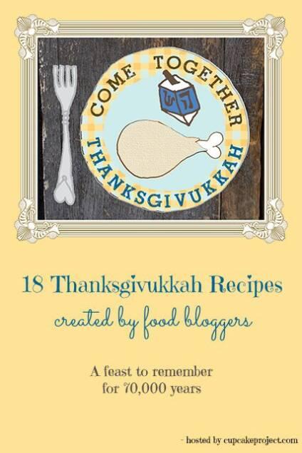 Thanksgivukkah Blogger Potluck