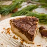 Slice of Christmas pie
